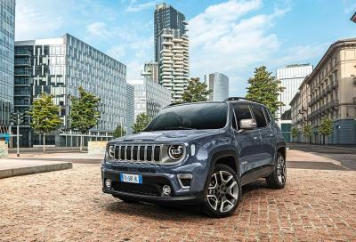 Jeep Renegade m.y. 2020: ancora più tecnologica