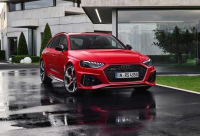 Audi RS 4 Avant restyling: la wagon si rifà il trucco