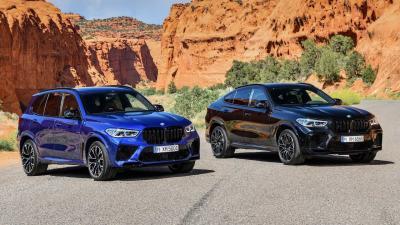 BMW X5 M e X6 M: con il pacchetto Competition la potenza è da capogiro
