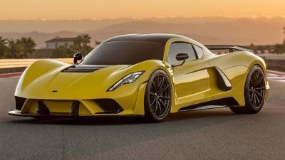 Hennessey Venom F5 ha messo nel mirino la Bugatti Chiron