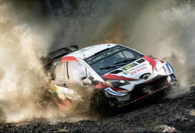 WRC: Tanak vince il Rally di Galles e si avvicina al Titolo