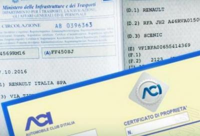 Documento unico circolazione: ennesimo rinvio