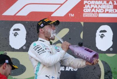 F1, Mercedes campione del mondo a Suzuka