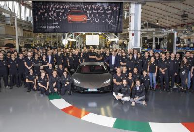 Più Lamborghini Huracan in cinque anni che Gallardo in dieci anni