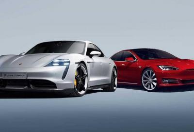 Tesla: al Nurburgring continua la sfida a Porsche