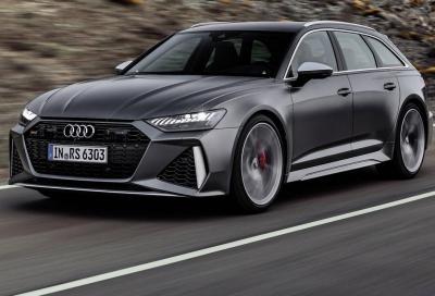 Nuova Audi RS6 Avant: servono 126.400 euro per metterla in garage