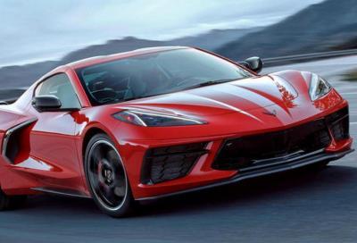 Nuova Corvette C8: al banco dinamometrico fa faville