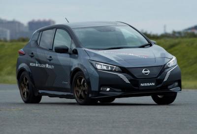 Nissan Leaf e+ Awc: 308 CV e trazione elettrica integrale possono bastare?