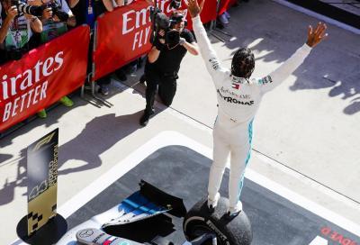 F1, Lewis Hamilton è campione del mondo per la sesta volta in carriera