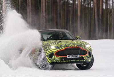 Aston Martin svela il prezzo della DBX