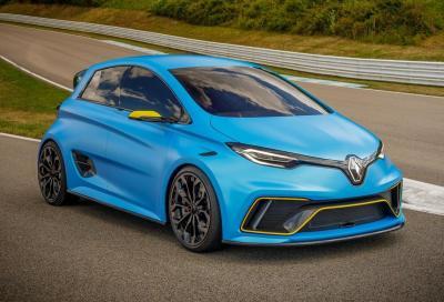 Renault Zoe Rs: l'elettrica da 460 CV