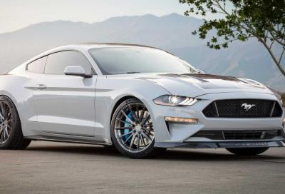 Ford Mustang Lithium: motore elettrico e cambio manuale