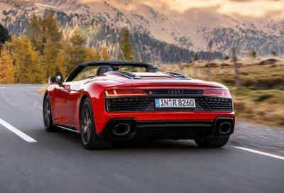 Audi R8 V10 RWD: la libidine della trazione posteriore