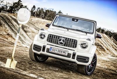 Mercedes Classe G: arriverà una variante a batteria