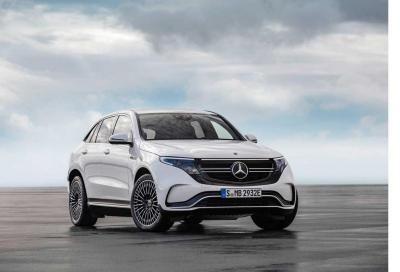 Inquinamento: quanta CO2 emette la Mercedes EQC nell'intero ciclo vita?