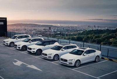 Volvo Cars: in Inghilterra le ricariche sono gratis