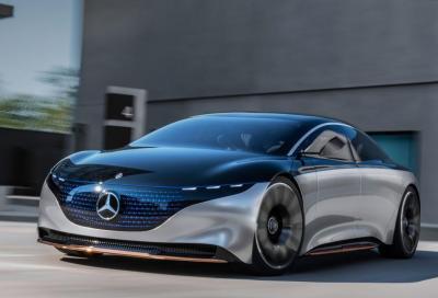 Mercedes: le auto elettriche obbligano al taglio di 1.100 posti di lavoro