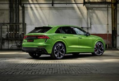 RSQ8, l'Audi più imponente mai prodotta