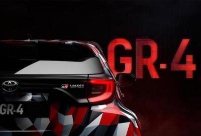 Toyota Yaris GR-4: sotto il cofano un piccolo tre cilindri?