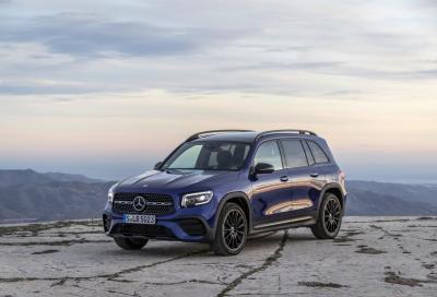 Mercedes GLB: compatta SUV a 7 posti