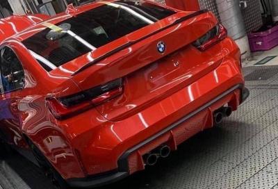 Nuova BMW M3: quella col cambio manuale sarà solamente a trazione posteriore