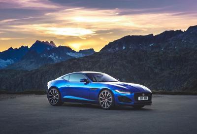 Jaguar F-Type 2020: nuove linee e addio al motore V6