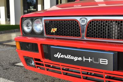 Lancia Delta HF Integrale, la prima con ricambi originali FCA Heritage Parts