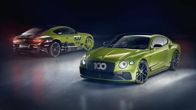 Bentley Continental GT, 15 esemplari celebrano la Pikes Peak
