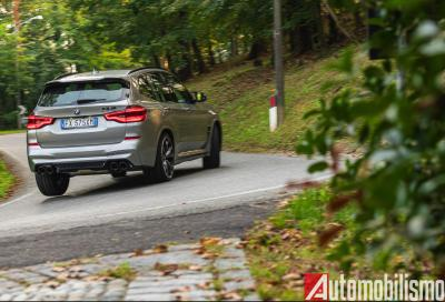 BMW X3 M Competition: la prova