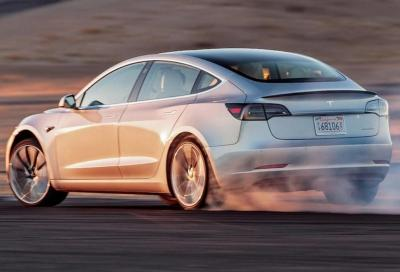 Tesla Model 3: con un aggiornamento lo 0-100 km/h scende a 3,9 secondi