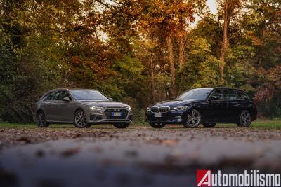 Audi A4 Avant vs BMW Serie 3 Touring: il confronto