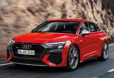 Audi RS3 2020: alza ulteriormente l'asticella