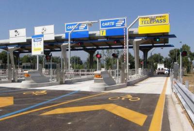 Pedaggio Autostrade: nessun aumento con il nuovo anno