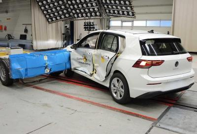 Volkswagen Golf 8 2020: il crash test rivela qualche magagna