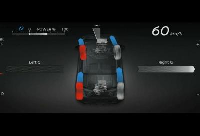 Nissan Leaf e+ Awc: quando la trazione integrale diventa elettrica