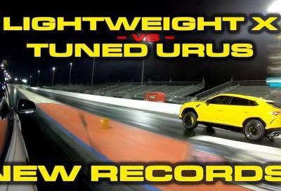 Lamborghini Urus vs Tesla Model X: confronto tra pesi massimi