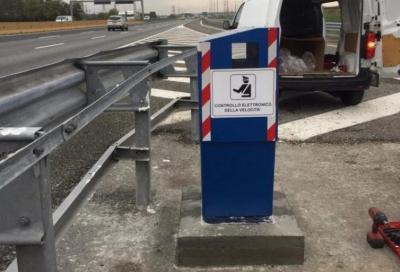 Autovelox Autostrada A4 (Torino - Milano): dopo Chivasso è l'ora di Arluno