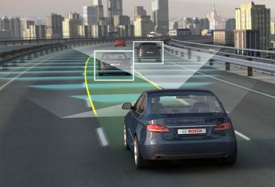 Bosch: nuovo sensore Lidar per la guida autonoma