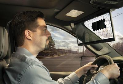 Bosch e la nuova aletta parasole super tecnologica