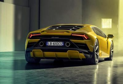 Lamborghini Huracan Evo RWD: la posteriore danza in pista