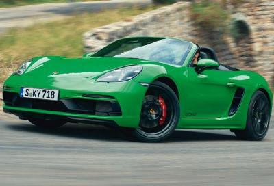 Porsche Cayman e Boxster GTS: si torna al 6 cilindri aspirato