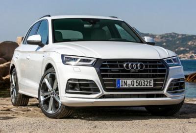 Audi Q5: il 2.0 TDi abbraccia la tecnologia mild hybrid