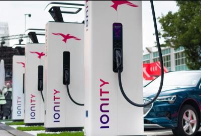 Colonnine Ionity: il prezzo sale per la ricarica fast a 0,79 euro/kWh