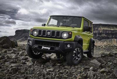 Suzuki Jimny: le emissioni ne sospendono la commercializzazione