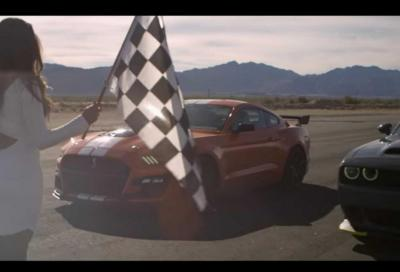 Shelby GT500 Vs Challenger Hellcat: sfida tra puledri americani