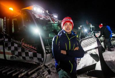 Vettel e Leclerc: il testa a testa è sul gatto delle nevi