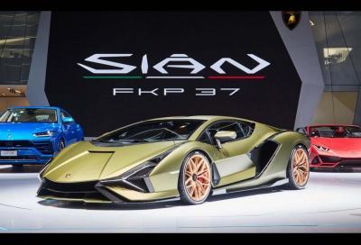 Lamborghini: nel 2020 l'ibrido arriverà in gamma