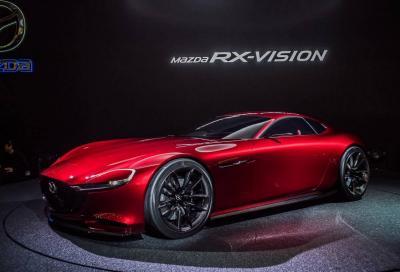 Mazda RX-9: 6 cilindri in linea o Wankel?