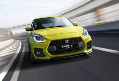 Suzuki Swift: la Sport abbraccia l'ibrido