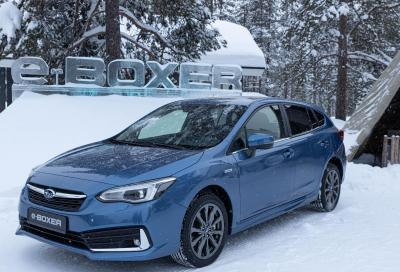 Subaru e-Boxer: anche l'Impreza diventa ibrida